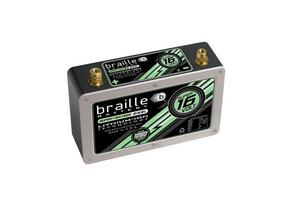 Braille Lithium 12 V 575 Cranking Amps Super-Sixteen Battery P/N B168L