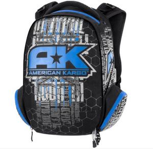 American Kargo 3517-0336 Commuter Backpack - Blue