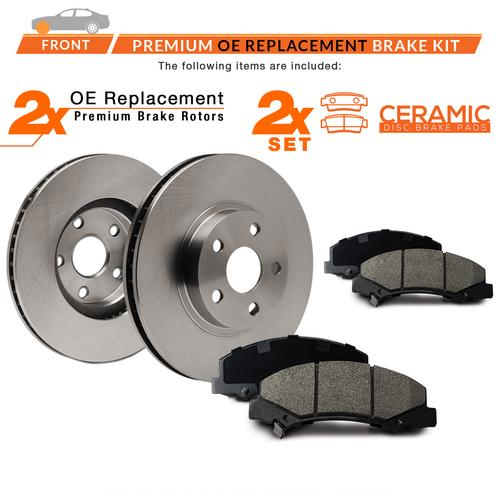 2009-2014 Polaris RZR S 800 EFI Front and Rear Brake Rotors Discs