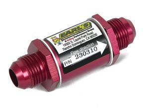 Earls Plumbing 230310ERL Aluminum In-Line Oil Filter