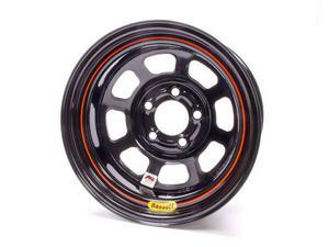 BASSETT D-Hole 15x8 in 5x4.75 Black Wheel P/N 58DC1I