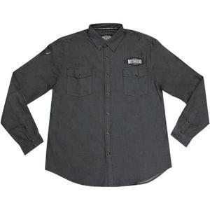 Lethal Threat Eagle Piston Long Sleeve Shirt (Black, XXX-Large)