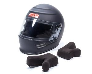 SIMPSON SAFETY 6100018 Helmet New Voyager Small Flat Black SA2015