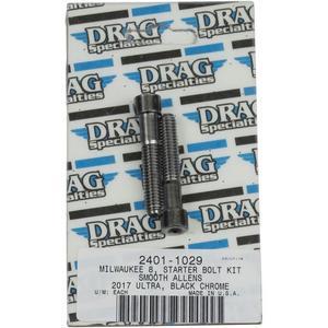 Drag Specialties 2401-1029 Starter Bolt Kit - Smooth
