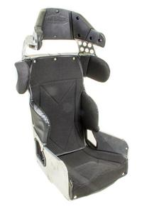 KIRKEY Black Tweed Snap Attachment Seat Cover P/N 71711