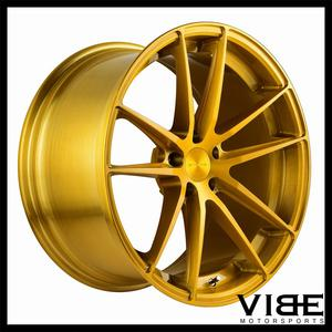 "20"" STANCE SC1 GOLD CONCAVE WHEELS RIMS FITS BMW F30 320 328 335 SEDAN"