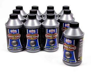 Lucas Oil DOT 3 Brake Fluid 12.00 oz Case of 12 P/N 10825-12