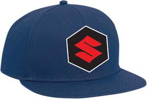 Factory Effex Suzuki Youth Snap Back Hat Blue 19-86412