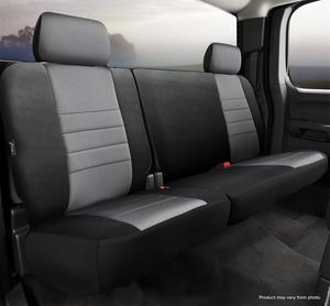 Fia NP92-37 GRAY Neo Neoprene Custom Fit Truck Seat Covers