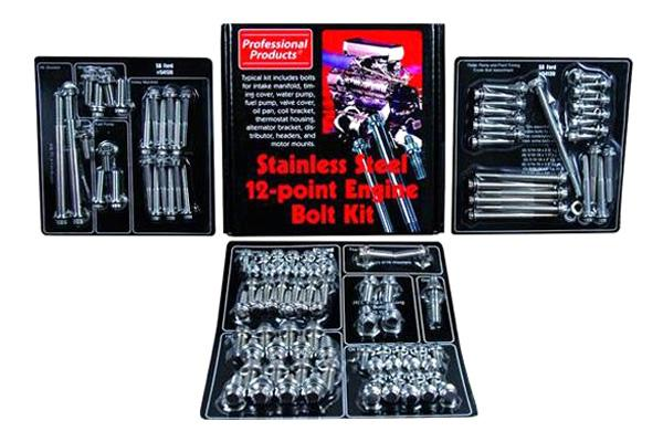 PROFESSIONAL PRODUCTS SBF 12 Point Engine/Accessory Fastener Kit Kit P/N 54130