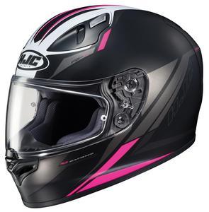HJC FG-17 Valve Helmet Semi-Flat Pink (MC-8SF) (Black, Medium)