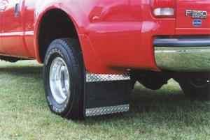 Owens Products 86RF105D Custom Fit Classic Series Mudflaps Fits F-350 Super Duty