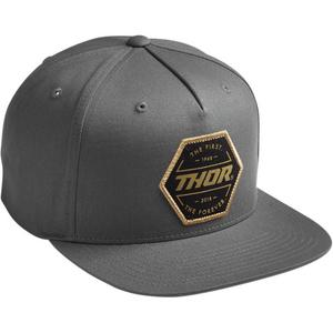 Thor Forever Snapback Hat Charcoal (Gray, OSFM)