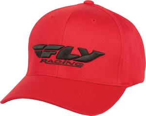 Fly Racing 2015 ADULT Podium Hat Red L-XL