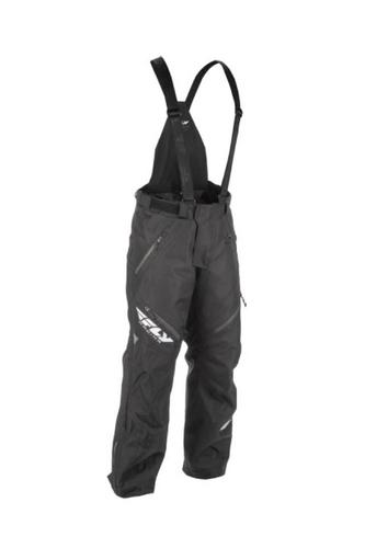 Fly Racing SNX Pro Pants Black/Orange (Black, Large Tall)