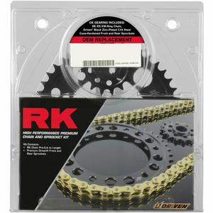 RK 2127-010E OEM Replacement Chain and Sprocket Kit - Natural