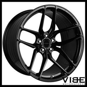"22"" STANCE SF03 GLOSS BLACK CONCAVE WHEELS RIMS FITS MERCEDES W222 S550 S63"