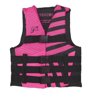 Airhead Trend Closed Side Womens Life Vest (Pink, Small - Medium)