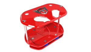 SAVIOR PRODUCTS Optima Type 34/78 Red Show Case Battery Tray P/N SC-O34-R