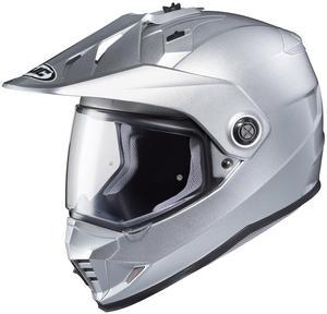 HJC DS-X1 Solid Helmet (Silver, Medium)