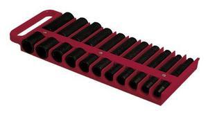 "Lisle 1/2"" Magnetic Socket Holder, Red (40900)"
