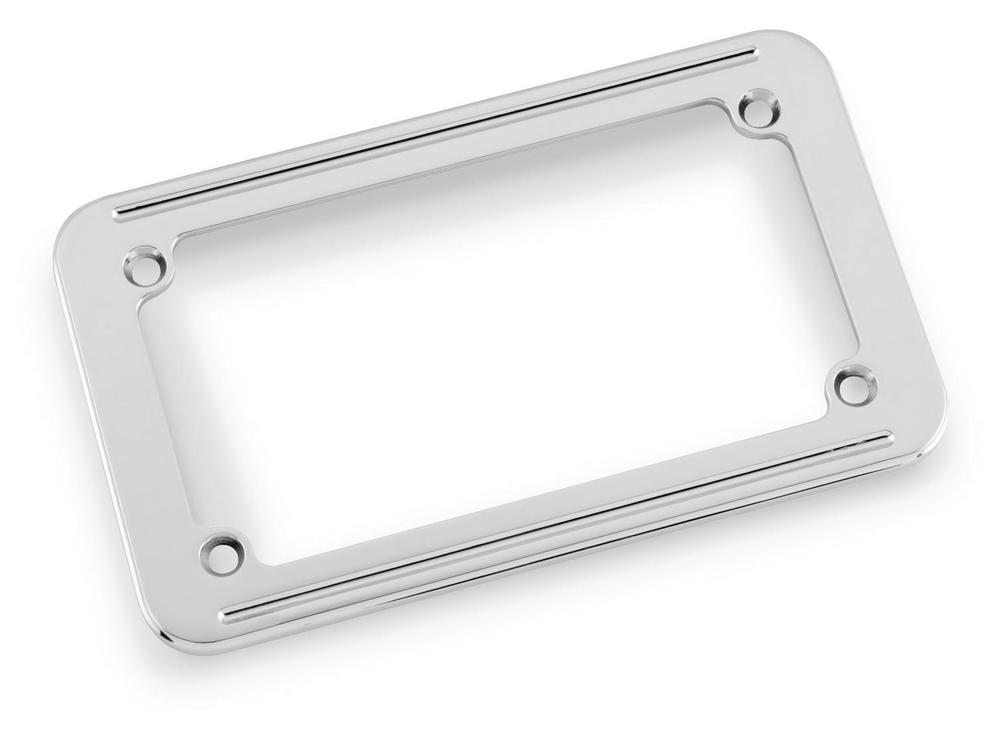 Bikers Choice 083028 License Plate Frame - 7.25in.W x 4.25in.H Small Twin Line