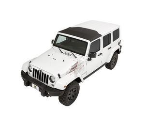 Bestop Sunrider for Hartop - Black Diamond 07-18 Jeep Wrangler JK JKU 52450-35