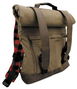 Burly Brand B15-1020D Voyager Back Pack - Brown