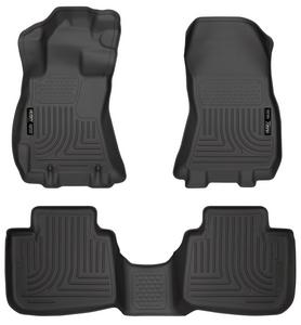 Husky Liners Front /& 2nd Seat Floor Liners Fits 14-18 Sentra 95621