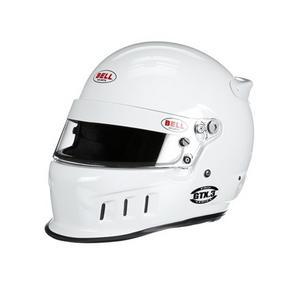 BELL HELMETS Size 7-5/8 White Snell SA2015 GTX.3 Pro Series Helmet P/N 1314005