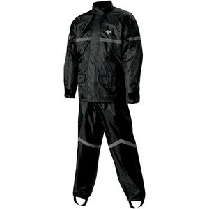 Nelson-Rigg SR-6000 StormRider Rain Suit (Black, Medium)