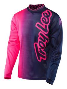 Troy Lee Designs 2017 GP Air Jersey 50/50 Flo Pink/Navy Mens Size XL