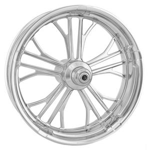 Performance Machine 1223-7106R-DXNAJ-CH Dixon Front Wheel (Single Disc) - 21x3.5in. - Chrome