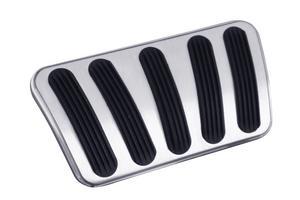Lokar BAG-6166 Billet Aluminum Curved Automatic Brake Pedal Pad