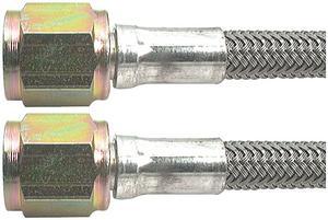 ALLSTAR PERFORMANCE 42 in 4 AN Braided Brake Hose P/N 46400-42