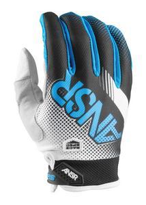 Answer Syncron Air Gloves (2017) White/Black/Cyan (White, XX-Large)
