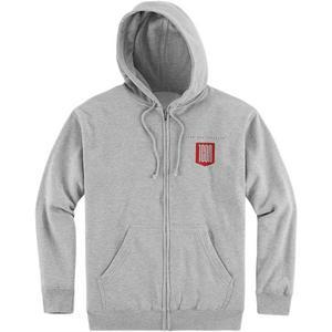 Icon 1000 Baseline Hoody (Gray, XX-Large)
