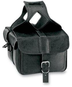 All American Rider 3014 Flap-Over Saddlebag - 11in.L x 6in.W x 9.5in.H