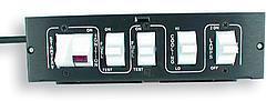 AUTO ROD CONTROLS Dash Mount Pro Stock Switch Panel P/N 3100