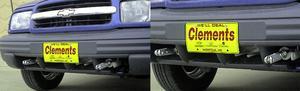 Blue Ox BX1636 Tow Bar Base Plate Fits 99-04 Tracker Vitara