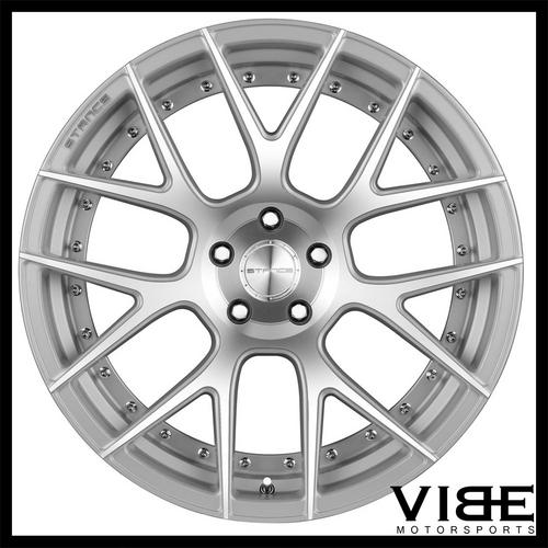 20 Stance Sc8 Silver Concave Wheels Rims Fits Bmw E46 M3 Sold By