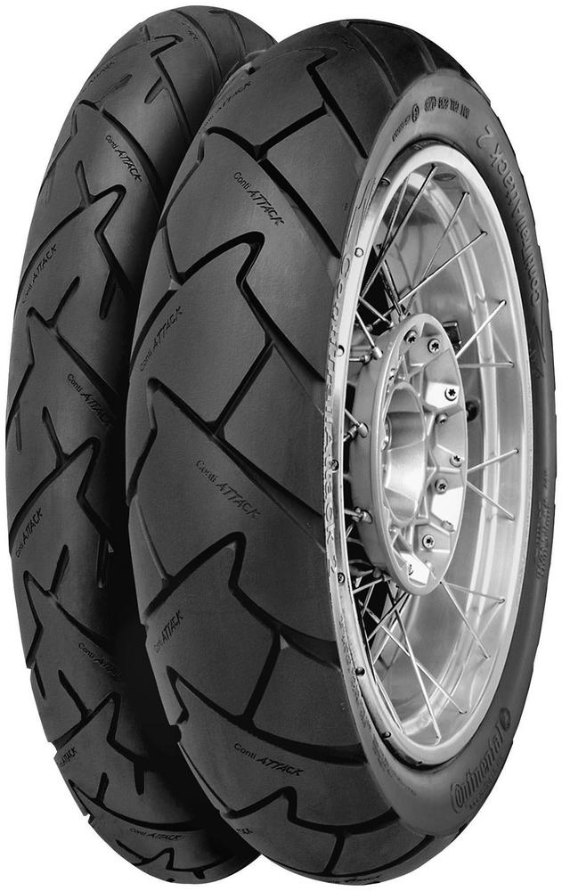 Continental 02444910000 Conti Trail Attack 2 - Adventure Touring/Dual Sport Rear Tire - 190/55ZR-17