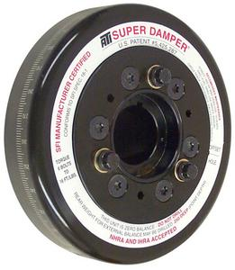 ATI PERFORMANCE Int Bal 6.325 in Super Damper Harmonic Balancer SBC P/N 917411