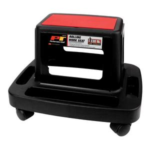 Performance Tools W85026 Rolling Work Seat - 18in. x 13.4in. x 12.4in.
