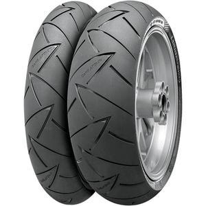 Continental 02440590000 Conti Road Attack 2 Hyper Sport Touring Rear Tire - 150/70ZR-17