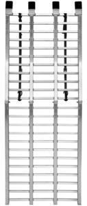 QuadBoss 3792 Aluminum Arched Ramp - Folding Wide Boy - 33in. W x 88in. L