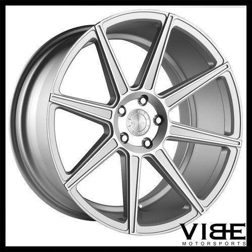 20 Vertini Toscani Silver Concave Wheels Rims Fits Mercedes W215