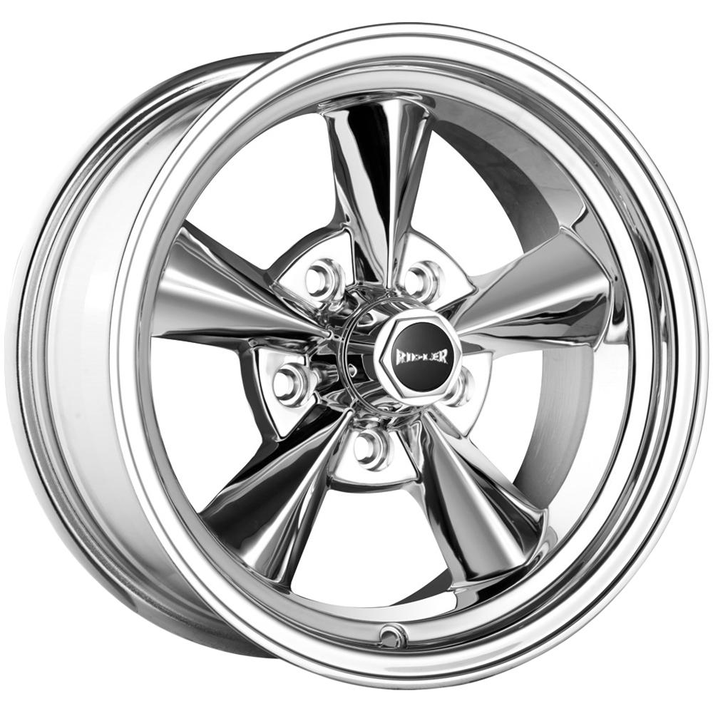 "Ridler 675 17x7 5x4.5"" +0mm Polished Wheel Rim 17"" Inch"