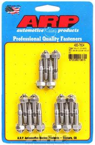 ARP Valve Cover Fastener Stud Hex Nuts Polished 14 pc P/N 400-7604