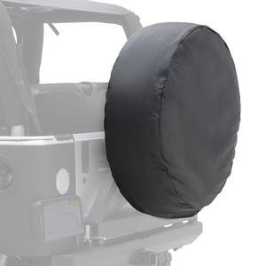 Smittybilt 773201 Spare Tire Cover Black 30-32 in Tire Dia. Medium